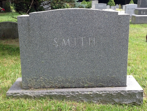 The final resting place of Walter Wellesley Smith, in Stamford, Connecticut. (Photo by John Nash)