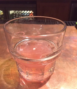 A raspberry Stoli Kamikaze at Cara's Irish Pub in Dover, N.H.