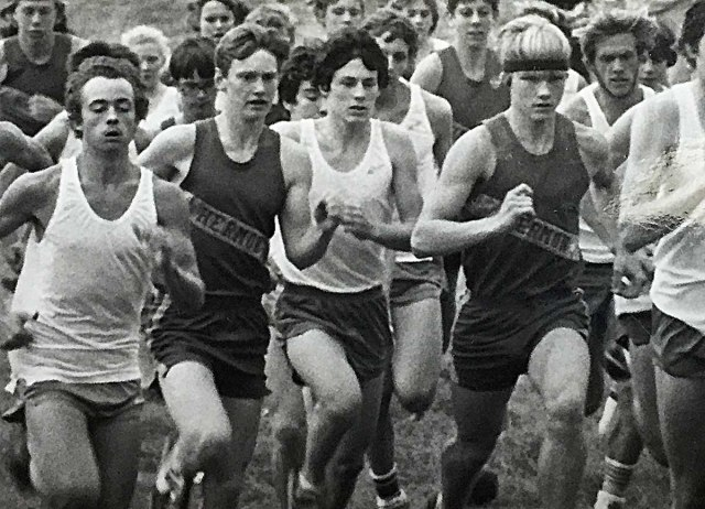 Jody Norton, center, was one of the best distance runners in the state of Maine during the early 1980s. He was also my best friend. Today, he is finally a Hall of Famer.