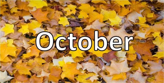 Ladies and gentlemen, October has come to The October Weekend.