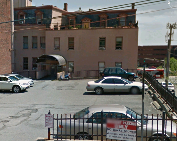 92 Columbia Street. This is where the fun really started. (Photo courtesy of Google Earth).