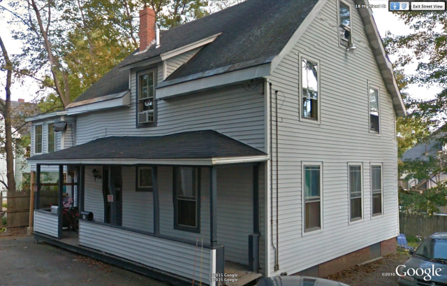 "Highland Court in Bangor, Maine. The only place I was ever called a ""homeowner."" (Photo courtesy of Google Earth)"