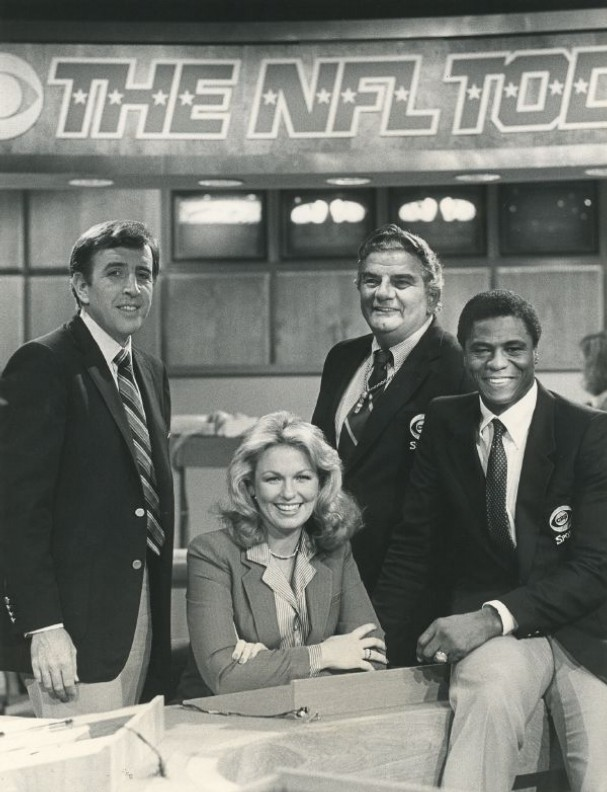 The NFL Today crew circa my youth. (Photo courtesy of CBS Sports)