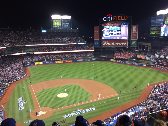 My view for Game 3 of the 2015 World Series (Photo by John Nash)