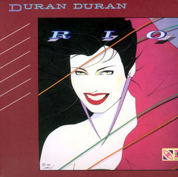 "Duran Duran's ""Rio"" album cover."