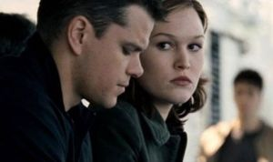 Is Julia Stiles looking at the end of her movie career with Jason Bourne?