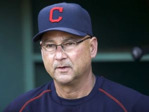 Cleveland Indians manager Terry Francona. (Photo by USA Today)