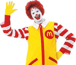 If you thought Ronald McDonald was scary, have you really looked at Burger King lately?
