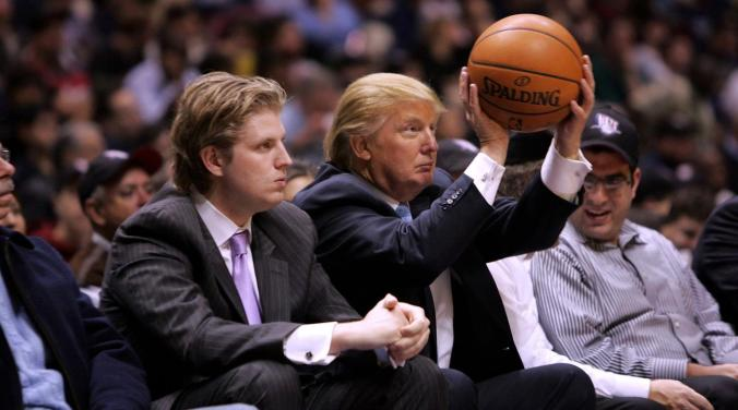 If Donald Trump were a basketball coach ... (Photo courtesy of SI.com)