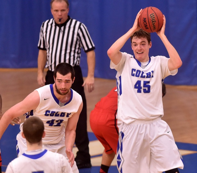 Patrick Stewart of Bangor, Maine, was a senior at Colby College this winter (Photo courtesy of centralmaine.com)